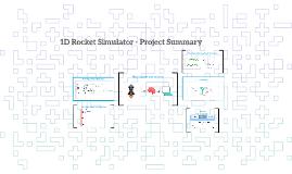 1D Rocket Simulator - Project Summary