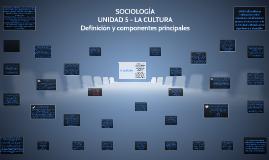 SOC - UNIDAD 5 - CULTURA