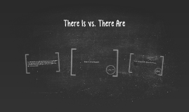There Is vs. There Are