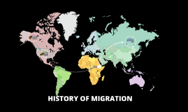 HISTORY OF MIGRATION