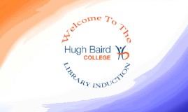 Copy of Copy of Copy of Hugh Baird Library Induction