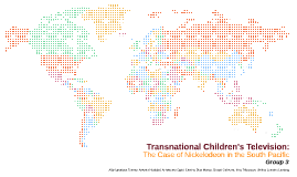 Transnational Children's Television