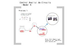 Control Anàlisi de Circuits. Problema 1 (Model A)