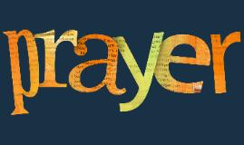 Prayer Spiritual Formation