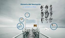 Copy of Historia del Vestuario