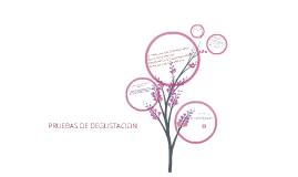 Copy of PRUEBAS DE DEGUSTACIÓN