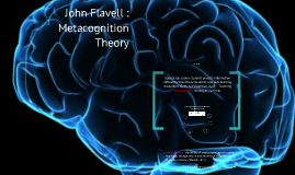 Copy of John Flavell - Metacognition Theory