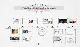 Timeline: Digitisation of Music