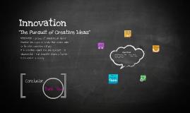 Copy of Copy of Innovation