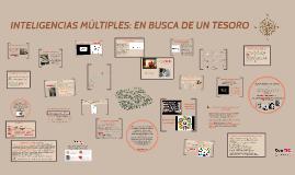 INTELIGENCIAS MÚLTIPLES: EN BUSCA DE UN TESORO