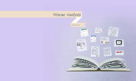 Miscue Analysis