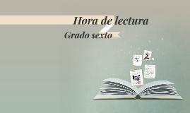 Hora de lectura