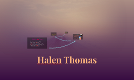 Halen Thomas