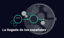 La llegada de los españoles