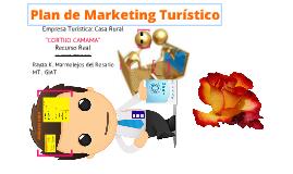 Elaborando nuestro Plan de Marketing Turístico