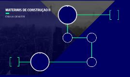 MATERIAIS DE CONSTRUÇAO