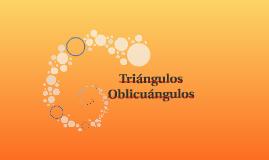 Triángulos Oblicuángulos