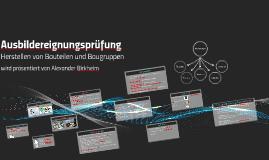 Copy of Ausbildereignungsprüfung