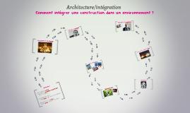 Architecture/intégration