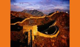 Classical China: Qin and Han