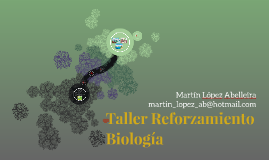 Taller Reforzamiento Biología