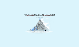 Snowsports Club Info