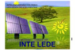 INTELEDE ESPAÑA-COLOMBIA LES DESEA FELICES FIESTAS!