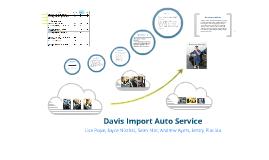 Davis Import Auto Service MKTG 129