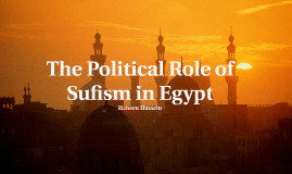 The Political Role of Sufism in Egypt