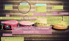 Copy of MARKETING PLAN FOR AVIARY BREWERY INC.,