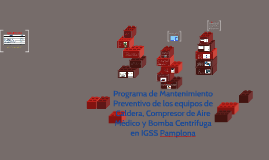 Programa de Mantenimiento Preventivo de los equipos de Calde