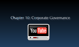 Chapter 10: Corporate Governance