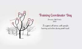 Training Coordinaters Day