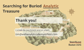 v1 - Searching for Buried Analytics Treasure