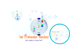 Review 1st Trimester-2015