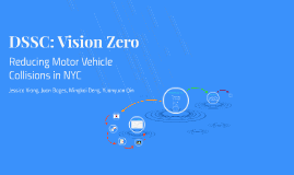 DSSC: Vision Zero
