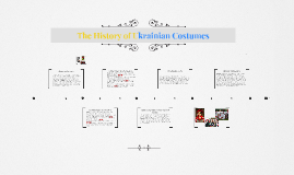 The History of Ukrainian Costumes