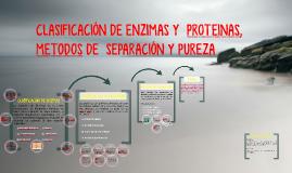 CLASIFICACIÓN DE ENZIMAS Y PROTEINAS,METODOS DE