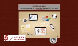 Die Universität Groningen stellt sich vor (Bachelor)