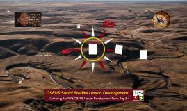 OSEUS Social Studies Lesson Planning part 2
