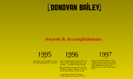 Copy of Donovan Bailey