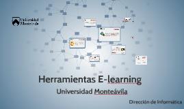 Herramientas E-learning Universidad Monteávila