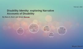 Disability Identity: exploring Narrative Accounts of Disabil