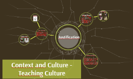 Context and Culture - Teaching Culture