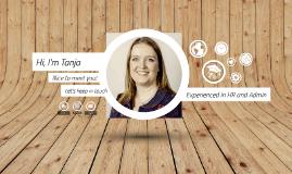 CV Tanja Van Wuytswinkel