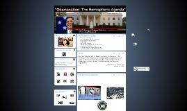"""Obamanation: The hemispheric Agenda"""