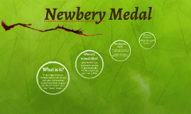 Copy of Newbery Medal