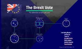 The Brexit Vote