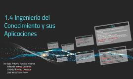 Copy of Ingeniería del Conocimiento y sus Aplicaciones