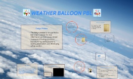 Hot Air balloon pbl